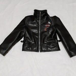 Harley Davidson Faux Leather Reversible Jacket